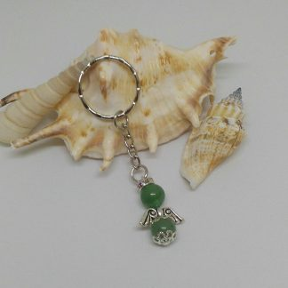 Ásvány angyal kulcstartók többféle ásványból